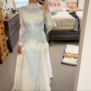 Stunning ice princess gown / dress